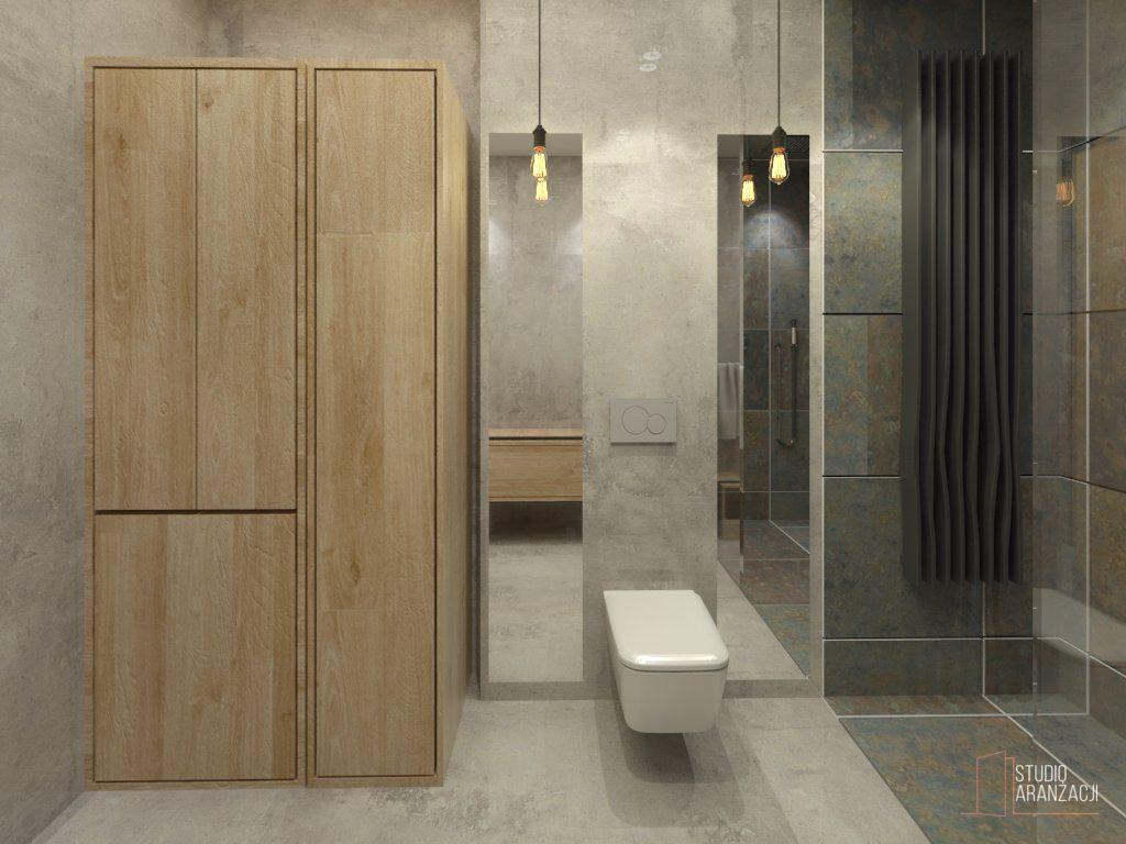 Łazienka – Betonowa