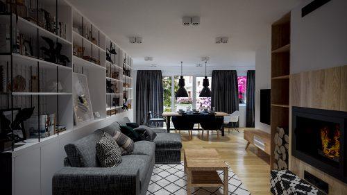 Apartament na przedmieściu Wrocławia