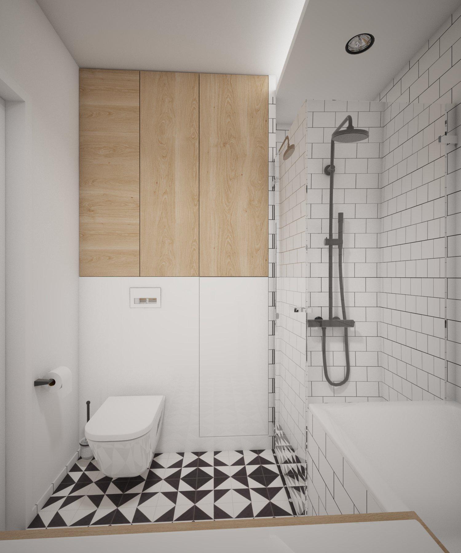 Łazienka – Retro