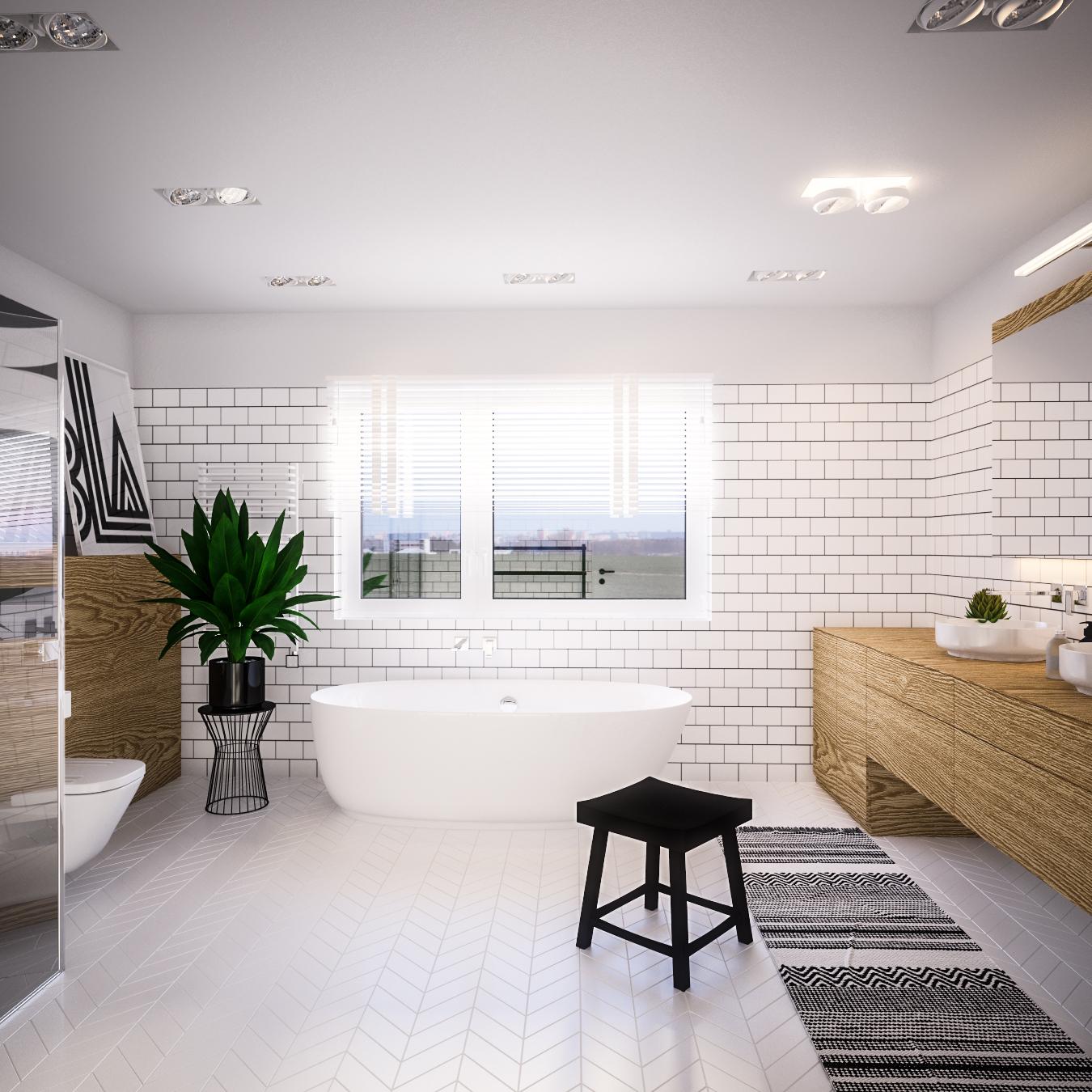 Łazienka – W skandynawskim nurcie